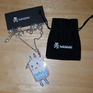 tokidoki Jewelry - Tokidoki Latte Necklace New with Tag and Pouch!